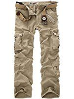 New Combat Men's Cotton Military Camouflage Cargo Pants Army Camo Trousers