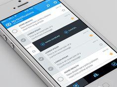 Radical New iPhone App #UI Design Trends