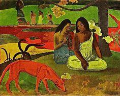 Arearea,by Paul Gauguin