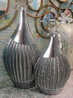 elementos de decoración, decorados en dorado y plata en www.virginia-esber.es