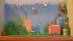 PAPERMAU: Mario Bros 3 Diorama Paper Model - by Dhal021 - via Pepakura Gallery