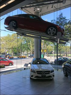 Miniature Roadside Service Model At Mercedes Benz | Miniature | Pinterest