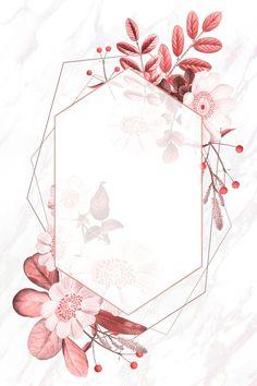 Flower Background Wallpaper, Framed Wallpaper, Pink Wallpaper Iphone, Cute Wallpaper Backgrounds, Flower Backgrounds, Background Patterns, Cute Wallpapers, Wallpaper Ideas, Pink Floral Background