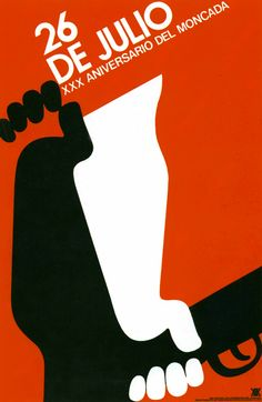 Cuban poster: designed by Fausino Pérez 1983