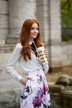 Winter flower look with Ted Baker