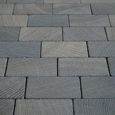 Holzpflaster   Slow Living, Floors, Tile Floor, Inspiration, Pavement, Wood, Home Tiles, Biblical Inspiration, Tile Flooring