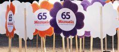 """Em Porto Alegre, """"flores"""" substituem com elegância os indesejáveis cavaletes na campanha de Manuela prefeita."""