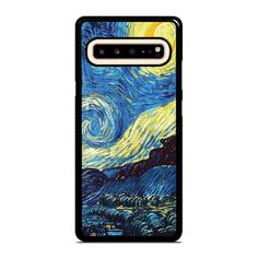 VAN GOGH STARRY NIGHT Samsung Galaxy S10 5G Case Cover  Vendor: Favocase Type: Samsung Galaxy S10 5G case Price: 14.90  This premium VAN GOGH STARRY NIGHT Samsung Galaxy S10 5G case will create premium style to yourSamsung S10 5G phone. Materials are from durable hard plastic or silicone rubber cases available in black and white color. Our case makers customize and design each case in high resolution printing with best quality sublimation ink that protect the back sides and corners of phone… Best Resolution, Black And White Colour, Phone Covers, Van Gogh, Cool Style, Silicone Rubber, Samsung Galaxy, How Are You Feeling, Night