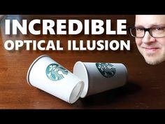 This optical illusion magic trick works with any take-out coffee cups. It looks impossible (but it's a great beginner magic trick.) Jay Sankey makes it easy . How To Do Magic, Learn Magic Tricks, Magic Tricks For Kids, Magic Tricks Revealed, Magic Card Tricks, Easy Magic, Simple Magic, Cool Stuff, Magic Tricks Tutorial