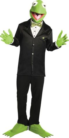Kermit the Frog Costume for Adults - Party City