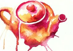 tattoo style idea - but with a different kind of teapot