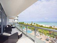 Beach condo for sale in Miami Beach, Florida, the US.