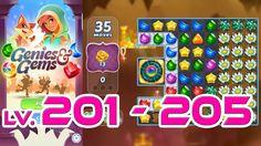 Genies & Gems - Level 201 - 205 (1080p/60fps)