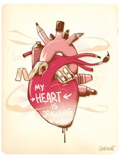 My Heart is Drawing            -GraPHeart