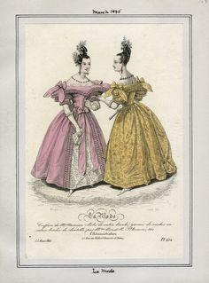 La Mode March 1835 LAPL