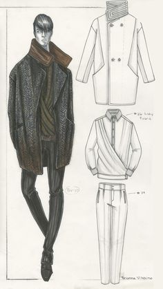Illustration by Brianna Vizcaino for A/X Armani | Otis Fashion