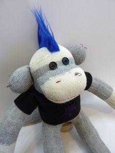 Max the Punk Sock Monkey