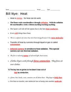 bill nye climate video guide sheet geo pinterest bill nye nye and worksheets. Black Bedroom Furniture Sets. Home Design Ideas
