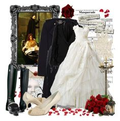 """""""Phantom of the Opera"""" by emerald111 on Polyvore"""