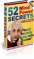 52 mind power secrets help you grow into genius