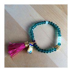 Pulsera Paulaté - Hecha a mano (Handmade bracelet by Paulaté)