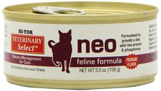Hi-Tor Neo Diet For Cats 5.5-oz cans ** Check out this great image  (This is an amazon affiliate link. I may earn commission from it)