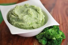 Parmesan & Broccoli Mashed Potatoes. Sounds different, but I really want to give it a try, could be tasty & delicious.