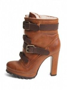 lug sole boots winter and fall fashion 2014 boots with jagged edge sole and heel tall brown boots