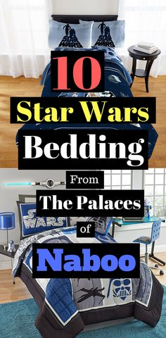 Thanks to new space age cloth, your Jedi trainees will be warmer than ever - Star Wars Bedding #starwars #bedding #home