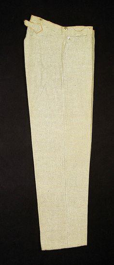 1850 -1870 Wool Trousers MET Museum