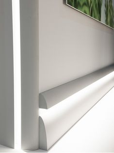 Ulf Moritz LUXXUS cornice moulding Indirect lighting system Orac Decor Antonio S ceiling coving decoration 2 m – Bild 5 Cove Lighting, Indirect Lighting, Lighting System, Interior Lighting, Modern Lighting, Lighting Design, Lighting Ideas, Crown Molding Lights, Baseboard Styles