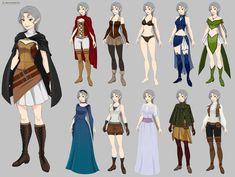 Elara Wardrobe (commission) by Precia-T