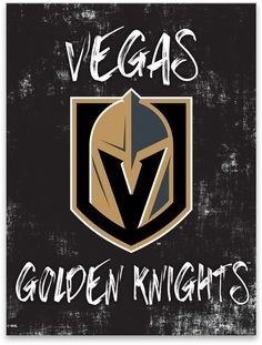 Complete your game room, man cave or living space with this Vegas Golden Knights canvas wall art. Vegas Golden Knights Logo, Las Vegas Knights, Golden Knights Hockey, Christmas In La, Ice Hockey Players, Nhl Logos, Knight Art, My Roots, Wall Papers
