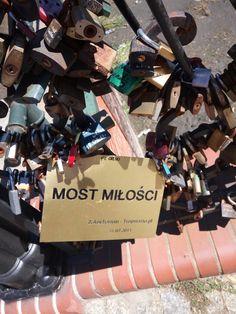 Love bridge Gdańsk