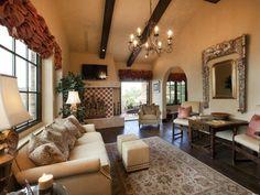 Hgtv old world living room