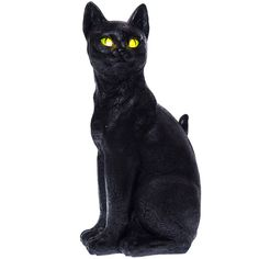 Decorative Light-Up Black Cat | Collections | Halloween  - Cracker Barrel Old Country Store