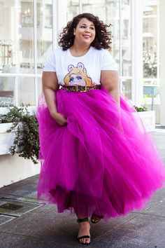Kelis for The Coveteur, Plus size tutu, Celebrity Style on GARNERSTYLE