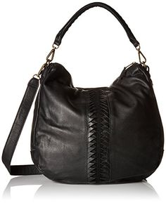 Liebeskind Berlin Niva Laser2 Shoulder Bag, Black, One Size ,,^..^,, Details @ http://www.amazon.com/gp/product/B019HCYATS/?tag=handbagscto-20&YZ=190816063431