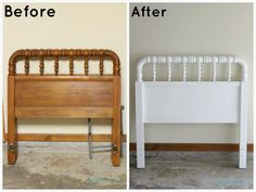 Before and After: The Oak Bedroom Set, Part 3