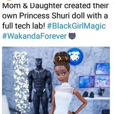 This is amazing. We need more marvel dolls lik this tht would b awesome <<< that was be amazing! Marvel Heroes, Marvel Avengers, Dc Memes, Faith In Humanity, Cultura Pop, Marvel Movies, Marvel Cinematic Universe, Black Panther, Black Girl Magic