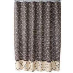 One Home Atrium Fabric Shower Curtain