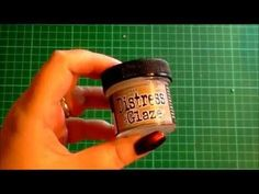 45.Techniques n Tips: Ranger Tim Holtz Distress Micro Glaze & How to use it