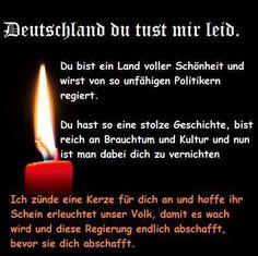 Eine Kerze für Deutschland