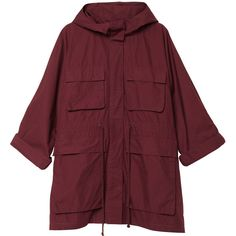 Alva jacket (€25) ❤ liked on Polyvore featuring outerwear, jackets, coats, coats & jackets, cult wine and monki