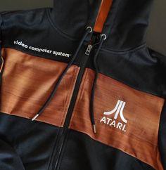 Mikina Atari - Atari 2600 (velikost M) - GameExpres. Videogames, Drawstring Backpack, Fashion, Moda, Fashion Styles, Video Games, Fashion Illustrations, Video Game