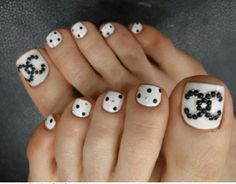 black and white nail art designs for beginners - styles outfits