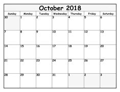 2018 October Calendar 2018 October Calendar Cute 2018 October Calendar Holidays 2018 October Calendar UK 2018 October Calendar With Notes Related Excel Calendar, Printable Calendar Template, Blank Calendar, Calendar 2018, October Calendar, Holiday Calendar, Printables, Templates, Words