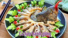 Cách làm cá hấp hành gừng vừa ngon vừa đẹp - http://congthucmonngon.com/127023/ca-hap-hanh-gung-vua-ngon-vua-dep.html