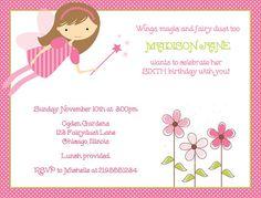 Tinker Fairy 297 Personalized Printable Jpeg Invitation Free Thank