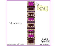 Charging - Peyote Bracelet Pattern - INSTANT DOWNLOAD pdf - 3 for 2 offer with coupon codes - bp229